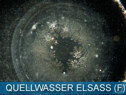 Quellwasser aus dem Elsass (Frankreich)